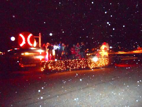 Christmas Light Parade 2016